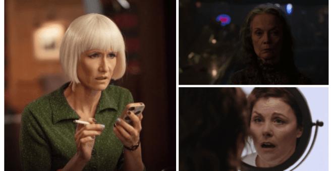 Twin Peaks, Women, The Return, Diane Evans, Laura Dern, Sarah Palmer, Grace Zabriskie, Audrey Horne, Sherilyn Fenn