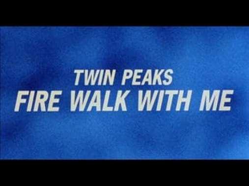 Twin Peaks Fire Walk With Me title screen