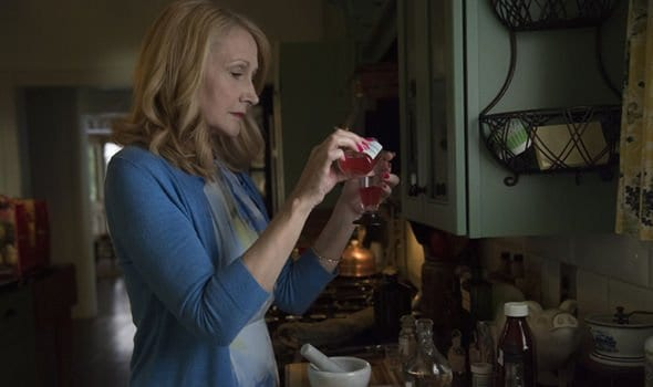 Adora makes a poison concoction in Sharp Objects