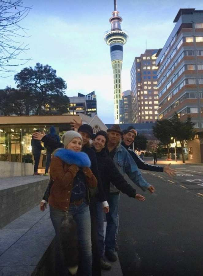 Kimmy Robertson, Sheryl Lee, Sabrina Sutherland, Michael Horse and Dana Ashbrook in Aukland for Conversations with the Stars