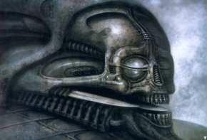 Giger image of a Guild Tank