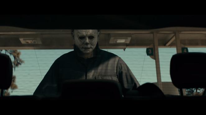 The Shape returns in Halloween