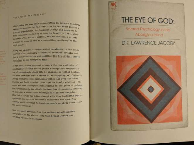 The Eye of God, Dr Jacoby section of the Secret History of Twin Peaks