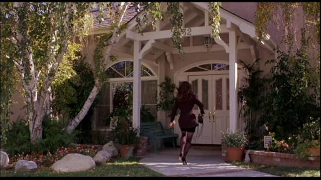 Heather Langenkamp's house in Wes Craven's New Nightmare in the movie