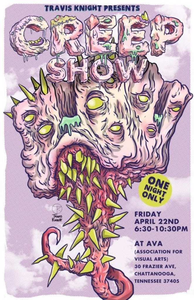 Creep Show by Travis Knight