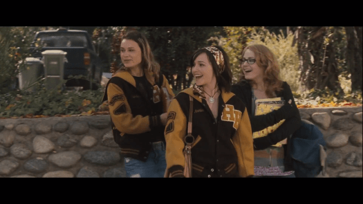 Kristina Klebe, Danielle Harris, and Scout Taylor-Compton in Halloween