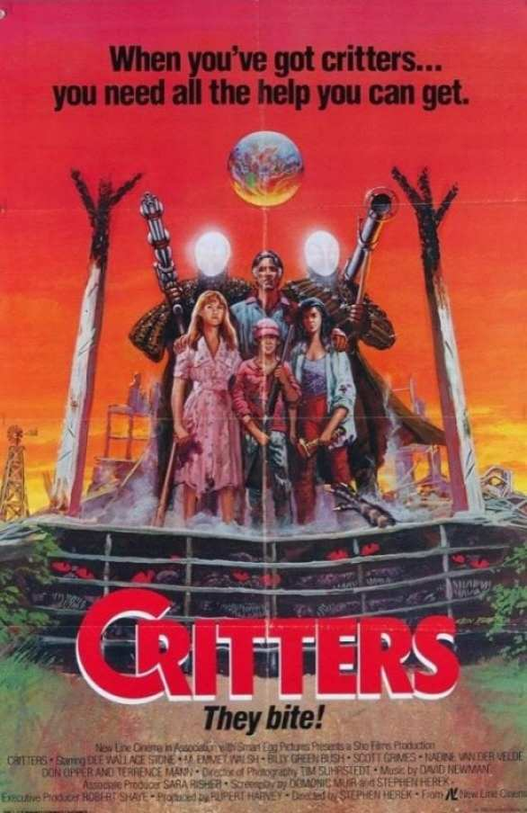 Critters' theatrical poster