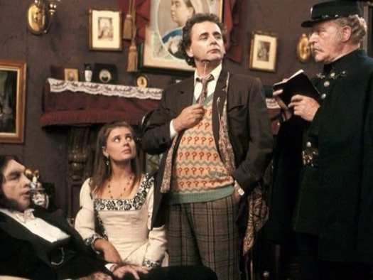 Seventh Doctor Sylvester McCoy in Ghost Light with Ace