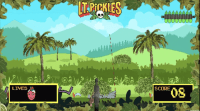 LT. Pickles video game from episode 9 of Showtime's KIDDING.