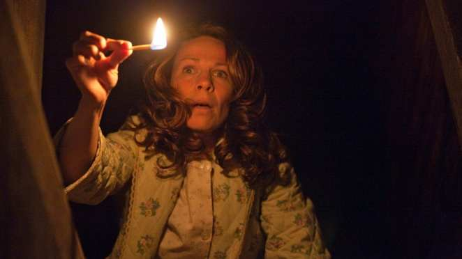 Lili Taylor stars as Carolyn Perron in The Conjuring