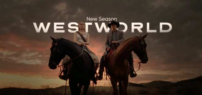 Title cover for Westworld Season 2 starring Evan Rachel Wood, on HBO