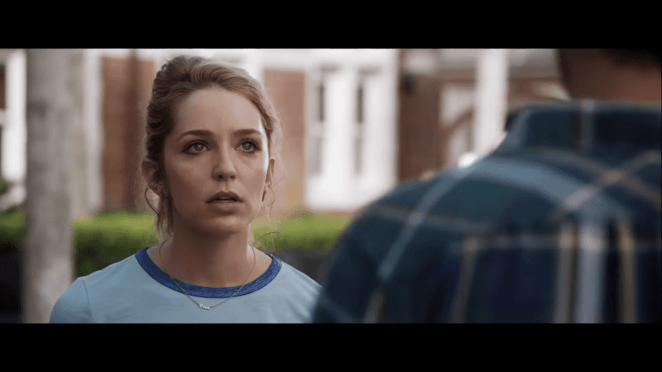 "Jessica Rothe as Theresa ""Tree"" Gelbman in Happy Death Day 2U"