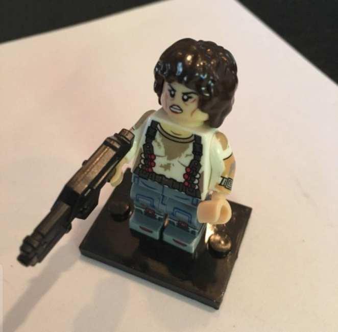 Ellen Ripley from Aliens Lego Figure