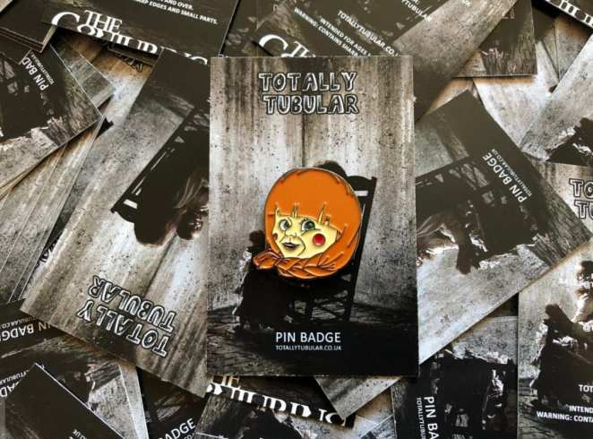 Annabelle doll, The Conjuring franchise, enamel pin