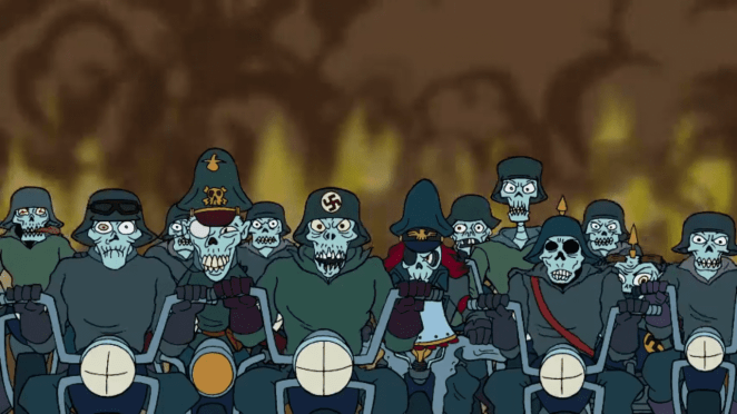 Nazi Zombies from The Haunted World of El Superbeasto
