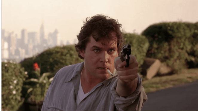 Ray Liotta as Gary Figgis in Cop Land