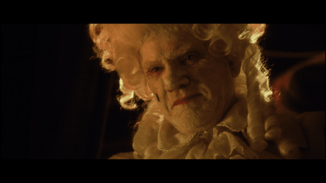 Malcolm McDowell as Father Napoleon-Horatio-Silas Murder in 31