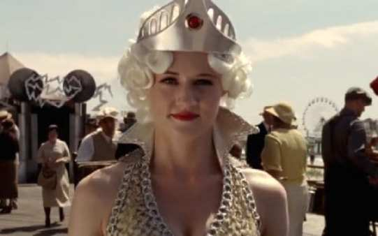 The Future - a strange lady appears to Nucky Thompson in the finale of Boardwalk Empire