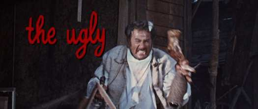 Eli Wallach as Tuco in The Good, the Bad and the Ugly
