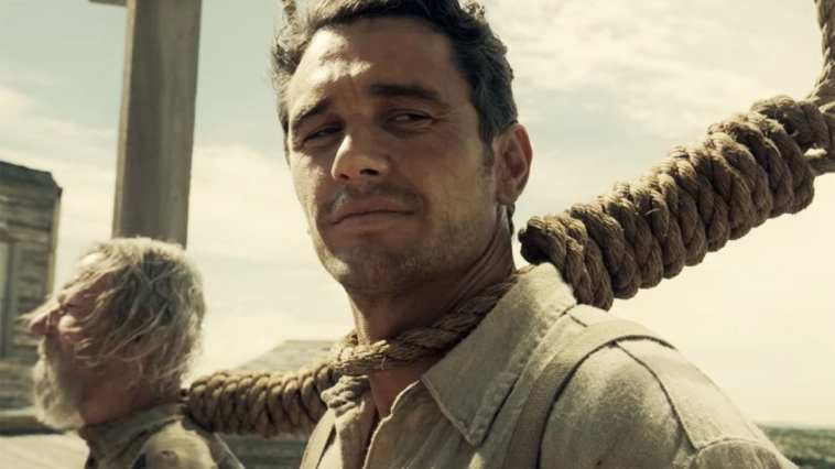 James Franco as Cowboy in The Ballad of Buster Scruggs