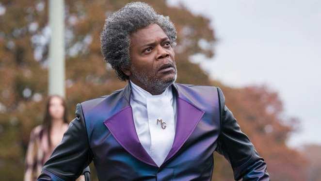 Samuel L Jackson stars as Glass, the new M.Night Shyamalan film
