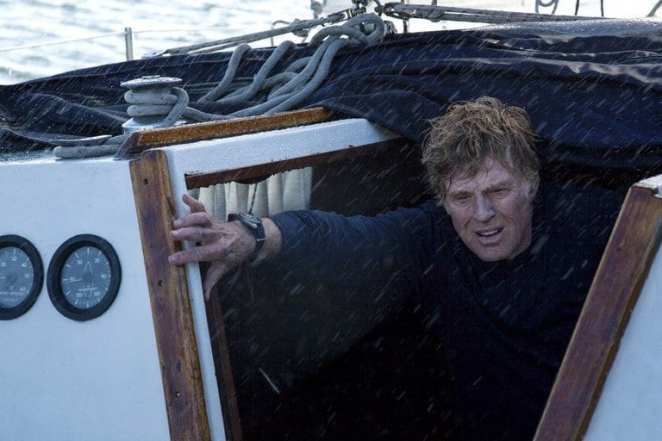Robert Redford in J. C. Chandor's All Is Lost