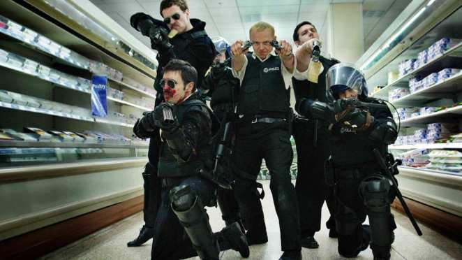 Hot Fuzz Still from Universal Pictures