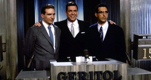 A scandal unfolds in 1994's Quiz Show.