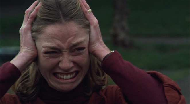 Veronica Cartwright in the remake of Invasion of the Body Snatchers