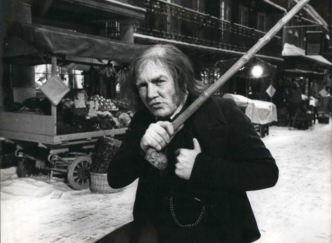 Albert Finney as Ebnezer Scrooge in Scrooge