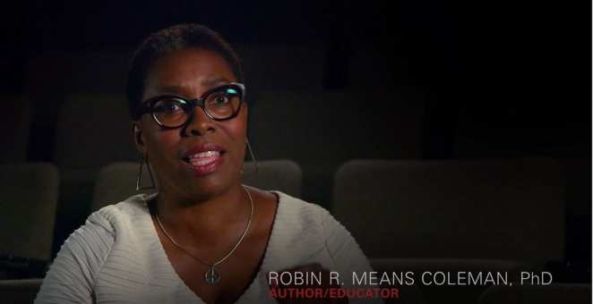 Dr. Robin R. Means Coleman plays a crucial role in Shudder