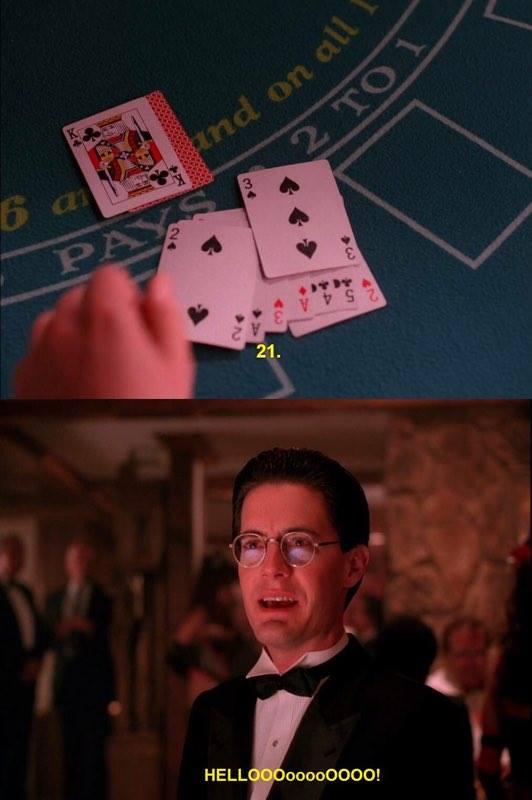 Dale Cooper was already Mr. Jackpots in the original run of Twin Peaks
