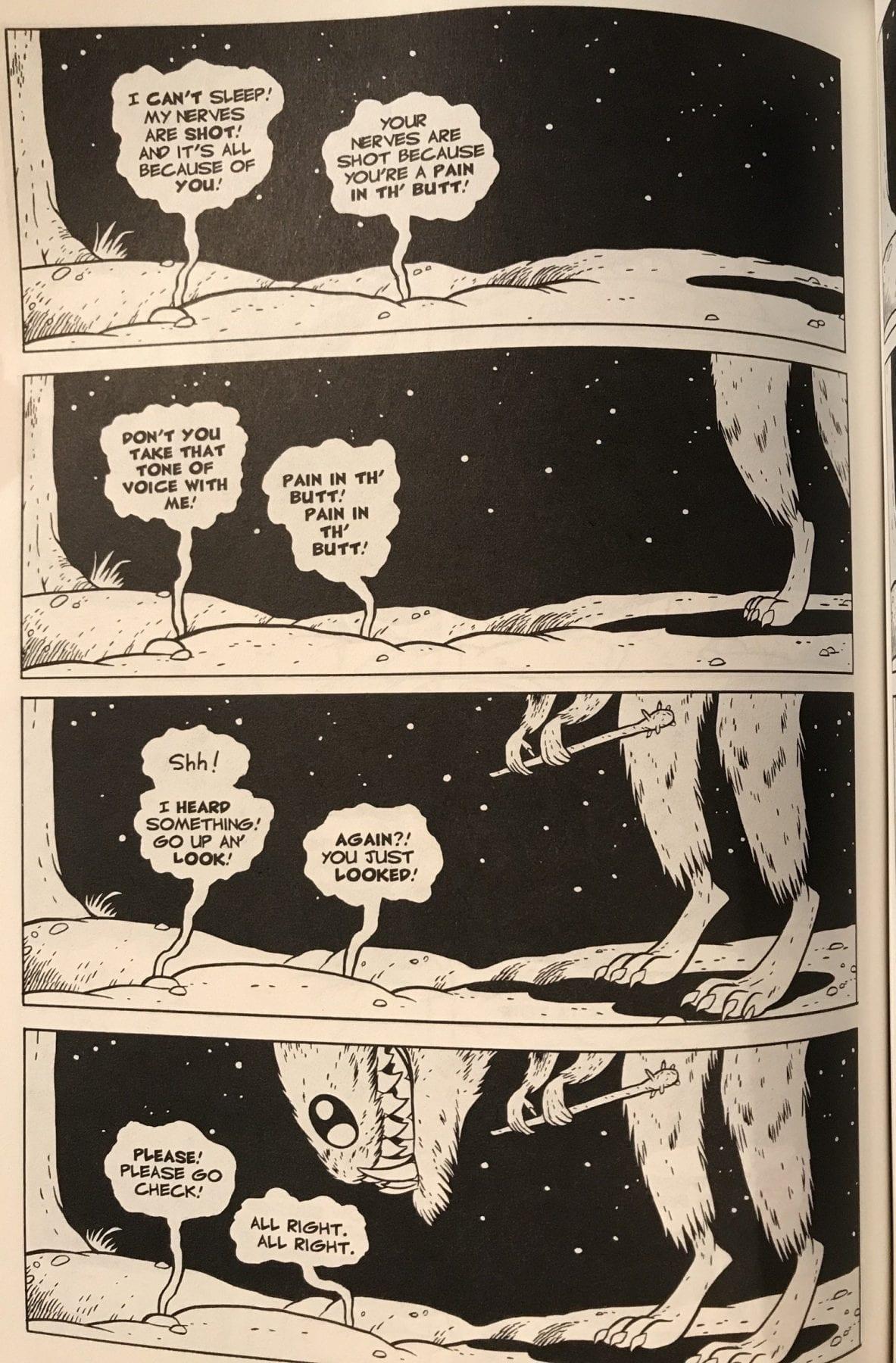 Art from Cartoon Books