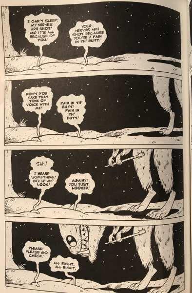Art from Cartoon Books' Bone #12, Jeff Smith art and writing