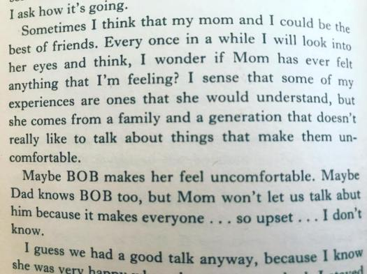 Excerpt from Laura Palmers diary references Sarah's knowledge of her anuse