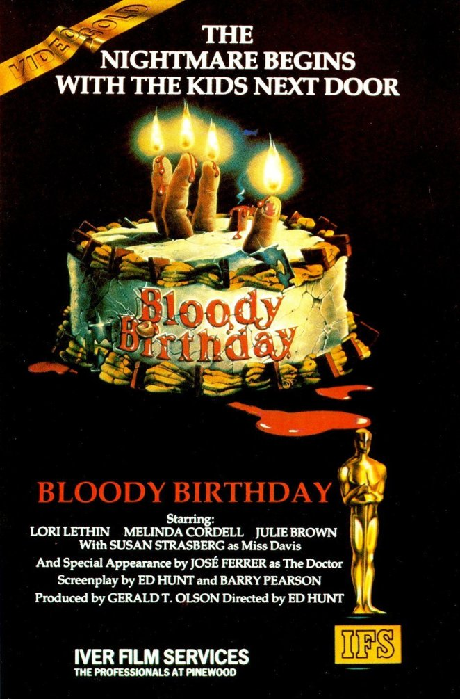 Bloody Birthday comes to Shudder in February