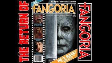 Halloween cover of Fangoria magazine