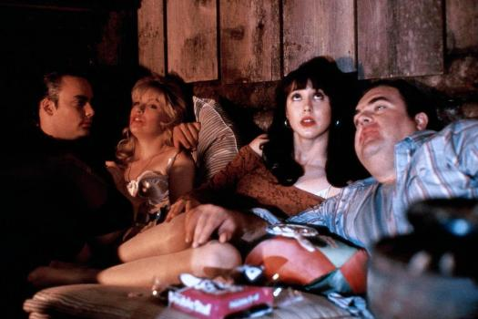 Leo, Laura, Ronette & Jacques get together at the cabin in the woods