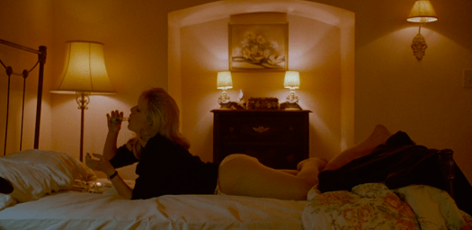 Laura Palmer uses sex and drugs to cover up the pain