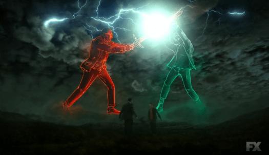 David and Farouk mentally battle in the Season 2 finale of Legion