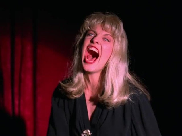 The infamous Laura scream from Twin Peaks