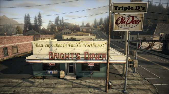oh deer diner from Alan Wake