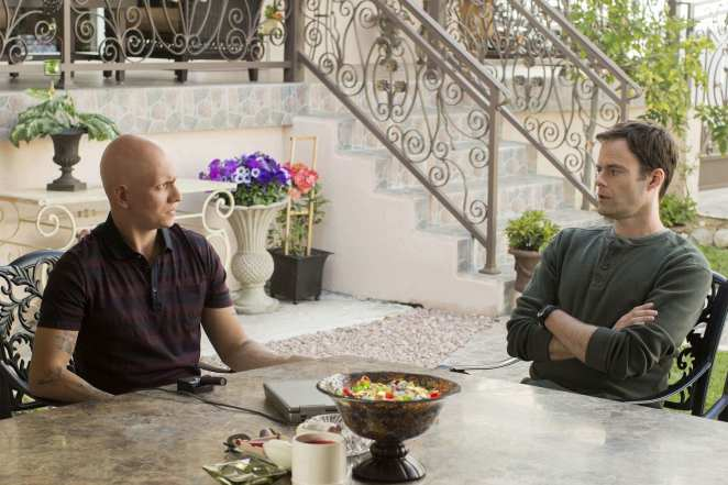 NoHo Hank tries to have a heart-to-heart conversation with Barry in the HBO series.