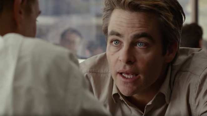 Chris Pine portrays Jay Singletary in I Am the Night