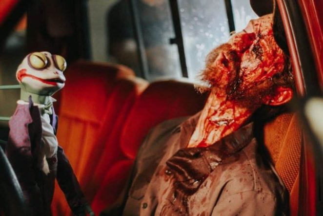 Only the finest of puppet related deaths in Puppet Master: The Littlest Reich