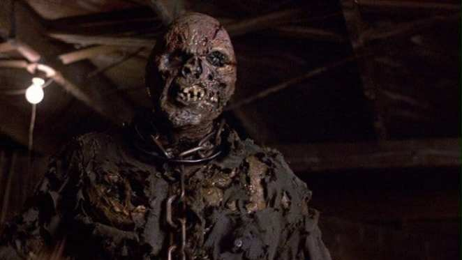 Jason Voorhees unmasked in Friday 13th Part vii New Blood