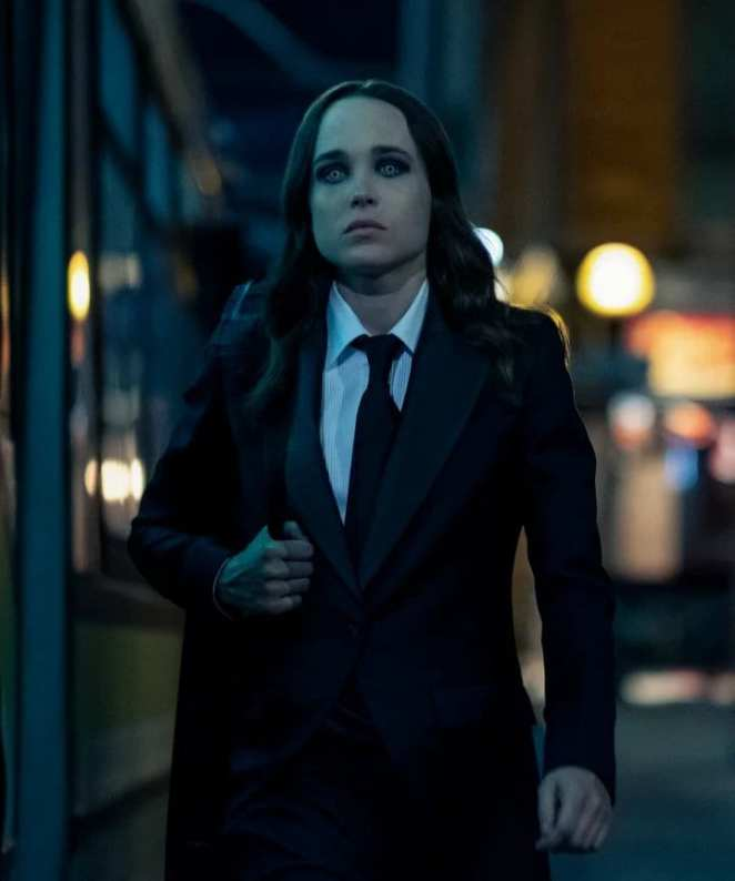 Ellen Page as the White Violin