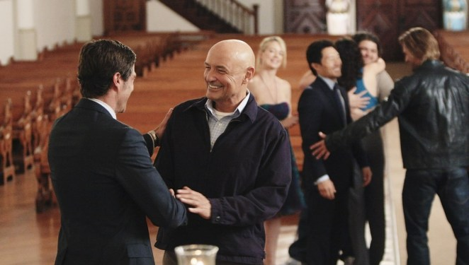 Jack and Locke give a final goodbye