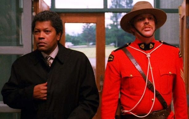 Roger and Mountie King Twin Peaks