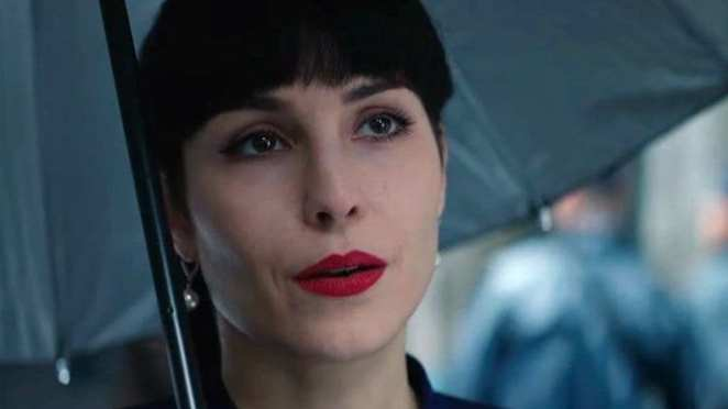 Noomi Rapace as one of seven sisters in What Happened To Monday